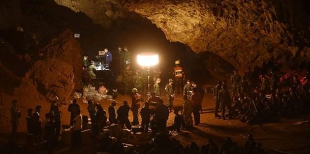Mağarada Mahsur Kalan Çocuklar Bulundu Ancak...