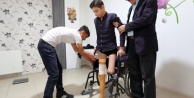 14 yaşındaki Sarıtaş'a büyükşehirden yeni protez