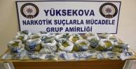 19 kilo 580 uyuşturucu...
