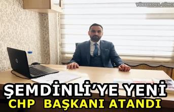 Şemdinli'ye yeni CHP  Başkanı atandı