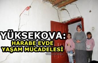 Yüksekova: Harabe Evde yaşam Mücadelesi