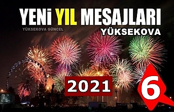 Yüksekova yeni yıl mesajları (6) - 2021