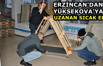 Erzincan'dan Yüksekova'ya uzanan sıcak el