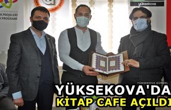 Yüksekova'da kitap cafe açıldı