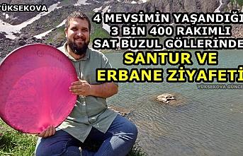 Yüksekova: 3 Bin 400 Rakımlı Sat Buzul Göllerinde Santur Ve Erbane Ziyafeti
