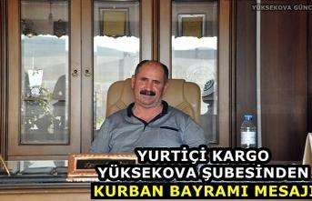 Yurtiçi Kargo Yüksekova Şubesinden Kurban Bayramı Mesajı
