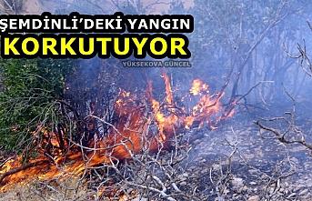 Şemdinli'deki Yangın Korkutuyor