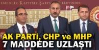 AK Parti, CHP ve MHP...
