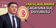 '#AkSilahlanma' çağrısına suç duyurusu