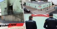 Almanya'da camiye el yapımı patlayıcıyla saldırı
