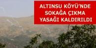 Altınsu Köyü'nde...