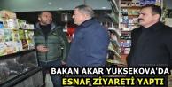 Bakan Akar, Yüksekova'da...