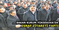 Bakan Kurum, Yüksekova'da...