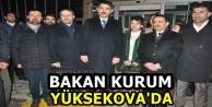 Bakan Kurum Yüksekova'da