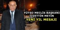 Başkan Metin'den Yeni Yıl Mesajı