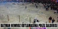 Batman Newroz kutlamasına polis saldırısı