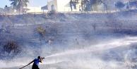 Bodrum'da korkutan yangın!...