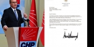 CHP'den 'mektup' tepkisi: Kağıt parçası iade edilsin