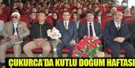 Çukurca'da Kutlu Doğum Haftası