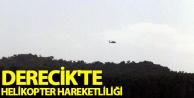 Derecik'te helikopter...