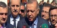 Erdoğan: Seçim bitti,...
