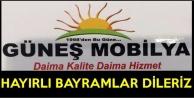 Güneş Mobilya'dan Ramazan Bayramı Mesajı