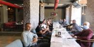 HDP Hakkari basınıyla kahvaltıda buluştu