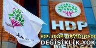 HDP: Seçim stratejisinde...