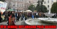 İÜ'de Newroz kutlamasına polis saldırdı