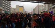 Kadınlar Günü açıklaması yapmak isteyen gruba polis müdahalesi: 15 gözaltı