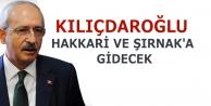 Kılıçdaroğlu Hakkari...