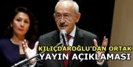 Kılıçdaroğlu'ndan ortak yayın değerlendirmesi