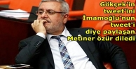 Mehmet Metiner özür...