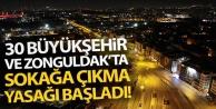Türkiye'de 31 İl'de...