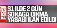 Türkiye'nin 31 İlinde...