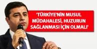 'Türkiye'nin Musul...