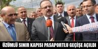 Üzümlü Sınır Kapısı Pasaportlu Geçişe Açıldı