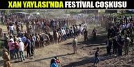 Xan Yaylası'nda festival coşkusu