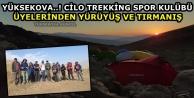 Yüksekova..! Cilo Trekking Spor Kulübü Üyelerinden Yürüyüş Ve Tırmanış