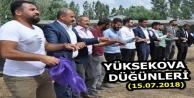 Yüksekova Düğünleri (15.07.2018)