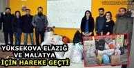 Yüksekova, Elazığ Ve Malatya İçin Hareke Geçti