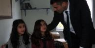 Yüksekova Milli Eğitim Müdürü, sınır köylerindeki okulları ziyaret etti