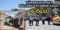 Yüksekova Sat Gölleri...