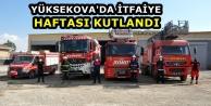 Yüksekova'da İtfaiye...
