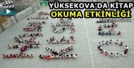 Yüksekova'da kitap...