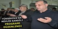 Yüksekova'da Mevlid...