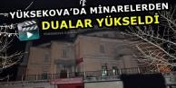 Yüksekova'da Minarelerden...