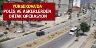 Yüksekova'da polis...