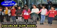 Yüksekova'da Ramazan Geceleri Çocuklar için Güzel