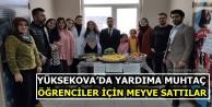 Yüksekova'da yardıma...